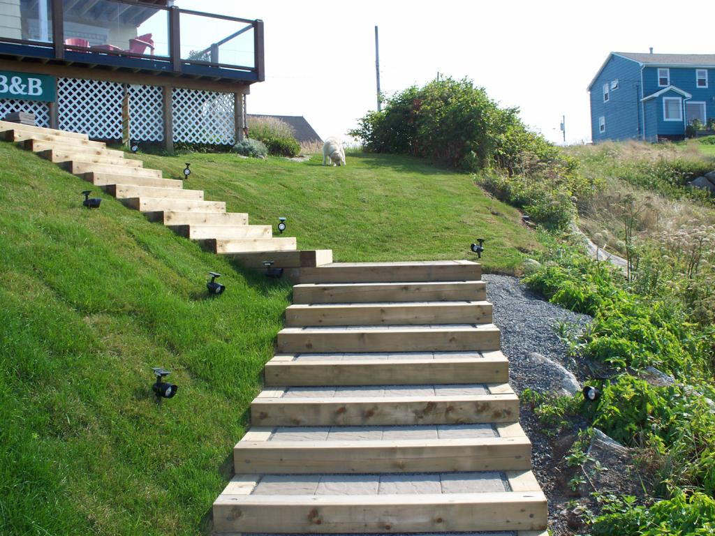 Landscaping Services in Peggy's Cove: After