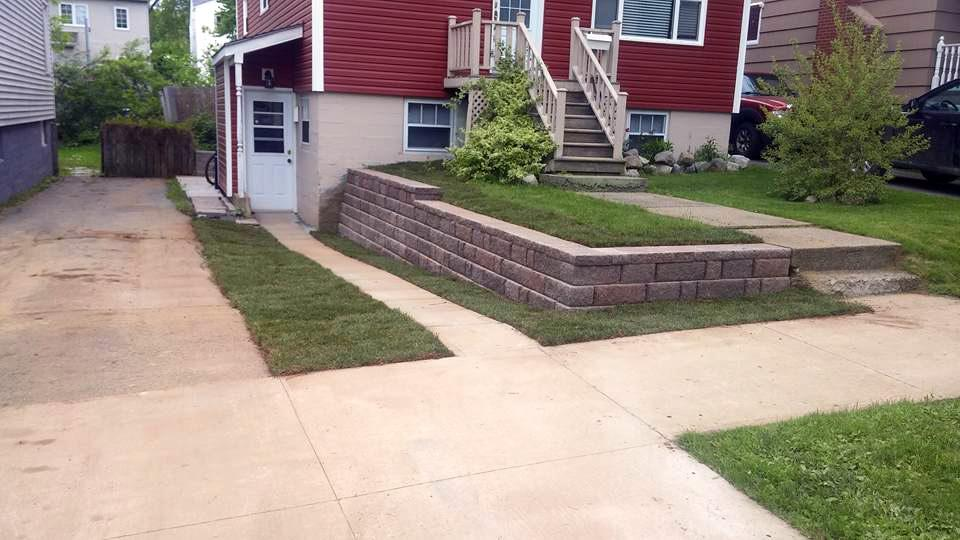 Landscape Walkways and Drainage Solutions in Halifax, NS
