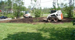 Leveling and Grading Landscaping in Halifax, NS